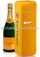 veuve clicquot fridge champagne