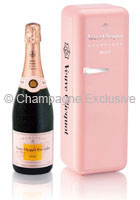 veuve clicquot fridge rose